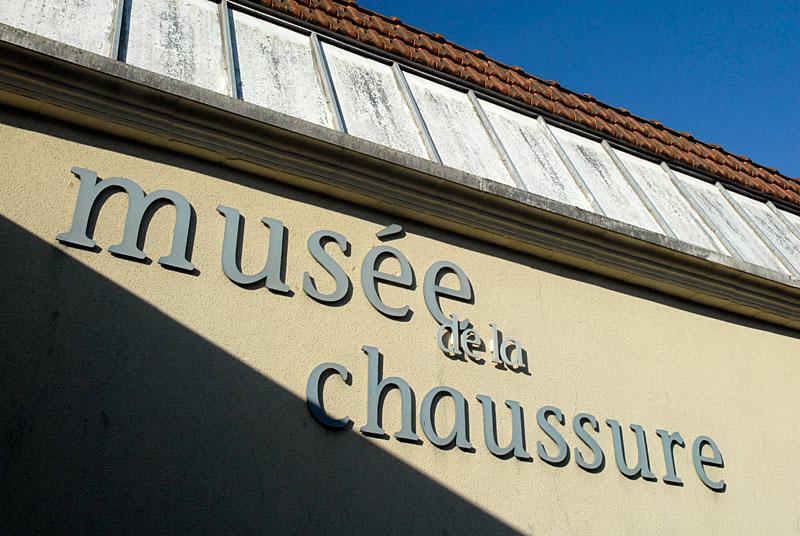 Devanture Musée de la chaussure